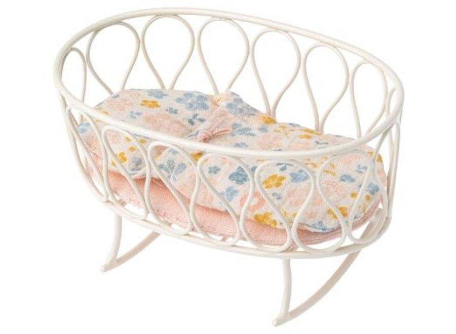 Cradle w. Sleeping Bag, Micro - Off-White