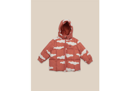 BOBO CHOSES Clouds All Over Anorak Ketchup