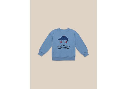 BOBO CHOSES Boy Sweatshirt Forever Blue
