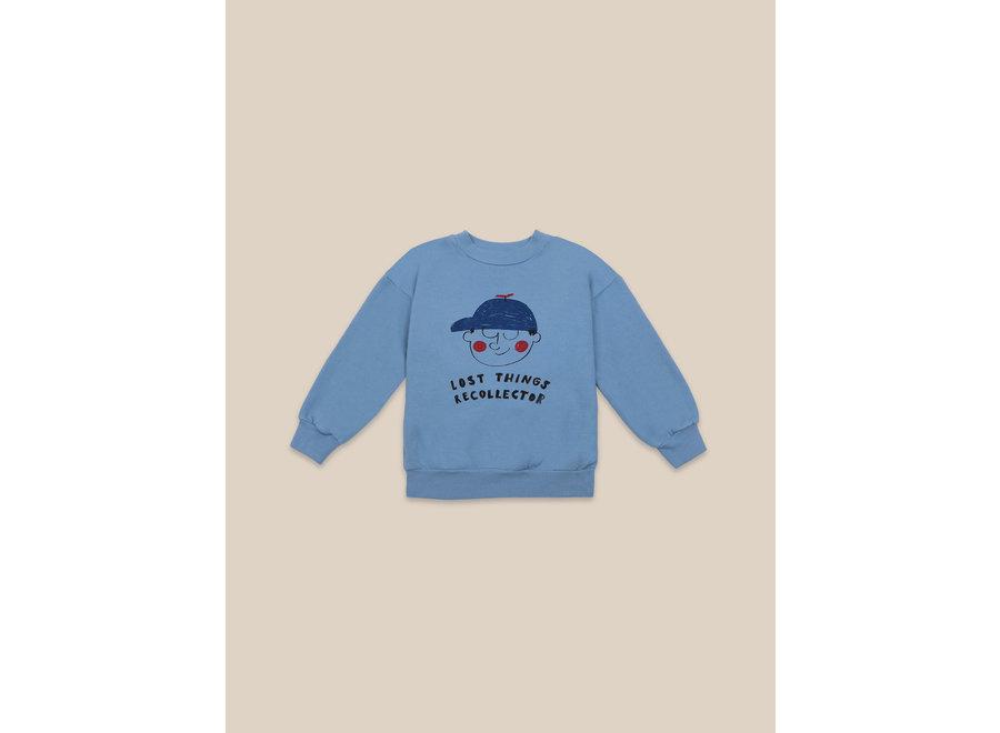 Boy Sweatshirt Forever Blue