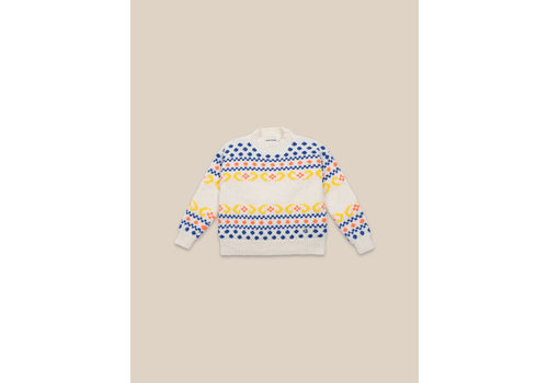 BOBO CHOSES Eclipse Jumper Brown Rice