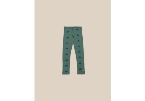 BOBO CHOSES Umbrella All Over Leggings Greener Pastures