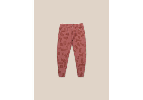 BOBO CHOSES Shades All Over Chino Pants Mahogany