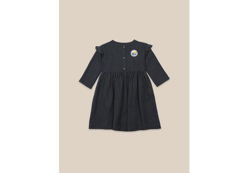 BOBO CHOSES Lucky Star Woven Dress Midnight Navy