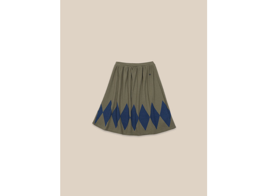 Diamond Skirt Olive Branch