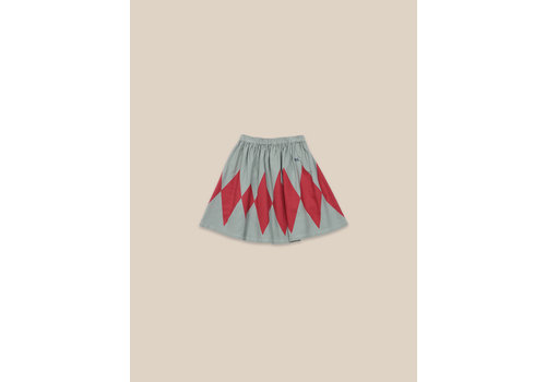 BOBO CHOSES Diamond Woven Skirt Desert Sagei