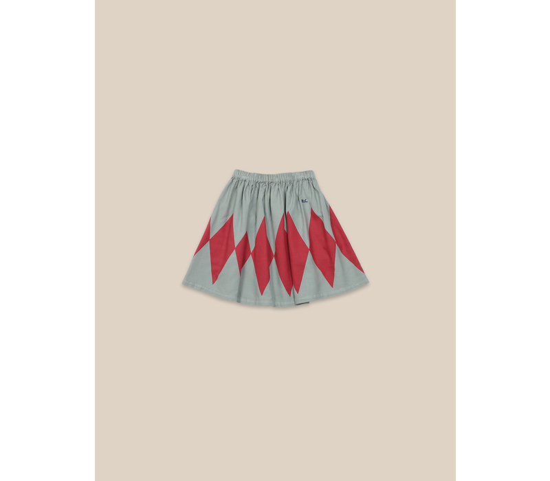 Diamond Woven Skirt Desert Sagei