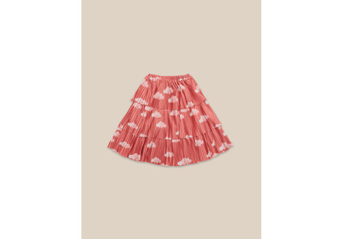 BOBO CHOSES Clouds All Over Woven Skirt Ketchup