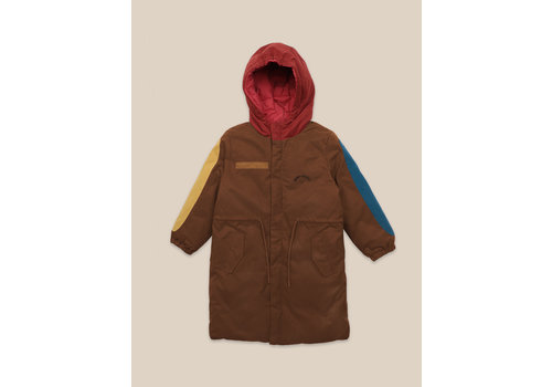 BOBO CHOSES Reversible Bobo Choses All Over Parka Red