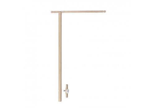Oliver Furniture WOOD HOLDER FOR BED CANOPY & MOBILE, OAK