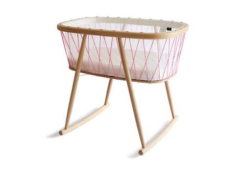 Charlie Crane KUMI Crib Mesh / Pink