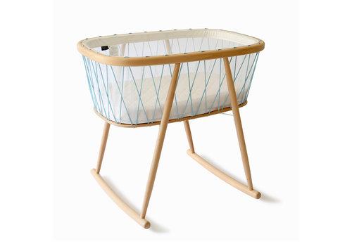Charlie Crane KUMI Crib Mesh / Aqua