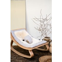 NEW! BABY ROCKER LEVO SHEEPSKIN
