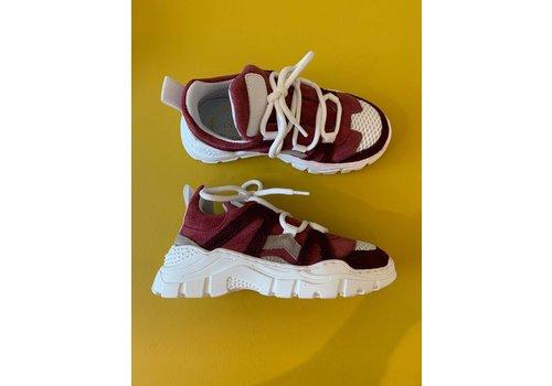 Gallucci Veter sneakers met bordeaux/roze kleuren, ook voor de mama's