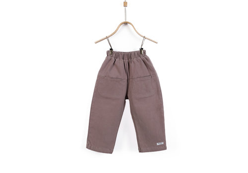 Donsje Co Trousers Dusty Beige
