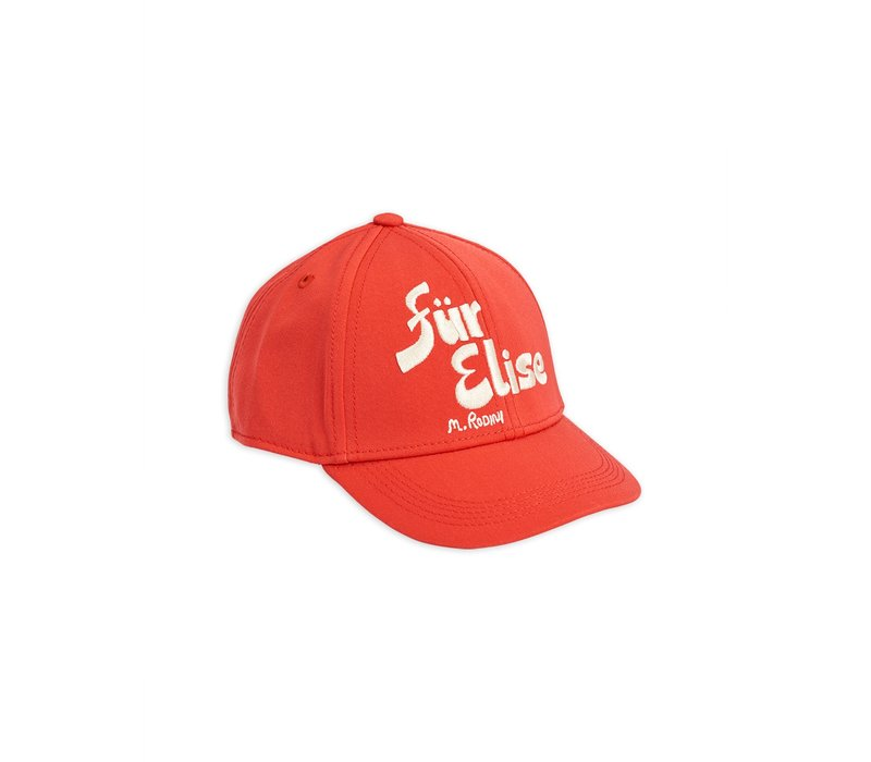 Fur elise cap Red