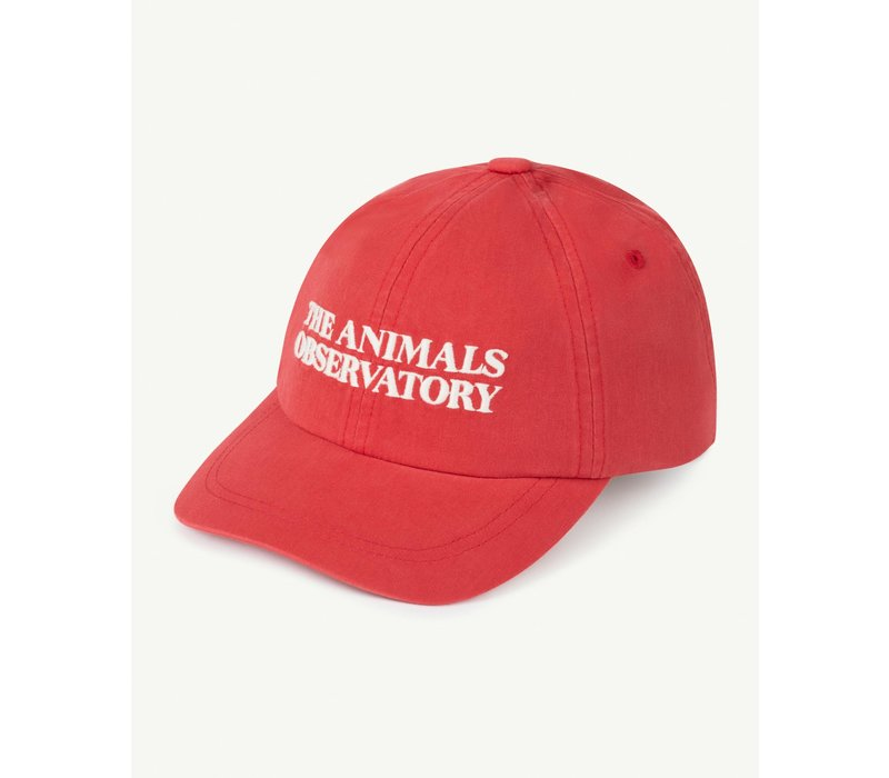 Hamster Cap Red The Animals