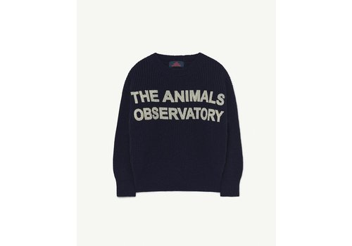 The Animals Observatory Tao Bull Sweater Blue Animals
