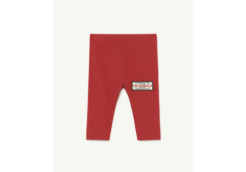 The Animals Observatory Penguin Baby Leggins Red Animals
