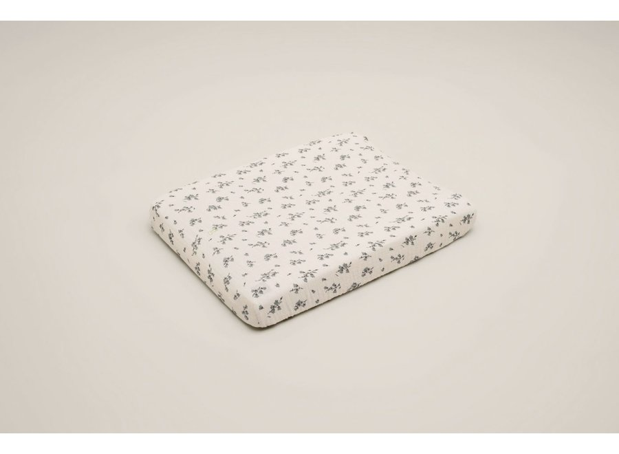 Bluebell Muslin Changing Mat Cover