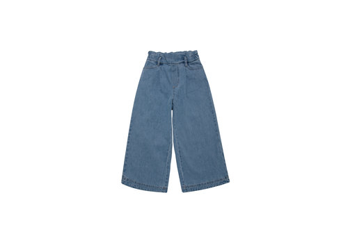 The New Society HOSIE PANTS DENIM LIGHT BLUE