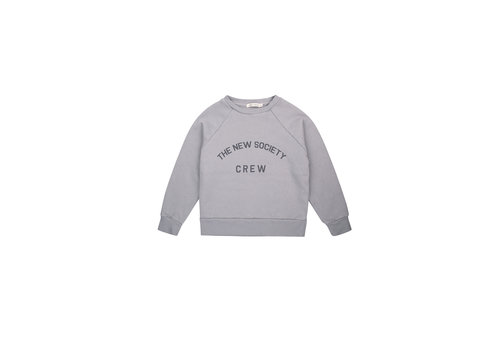The New Society THE NEW SOCIETY CREW SWEATER SOFT BLUE