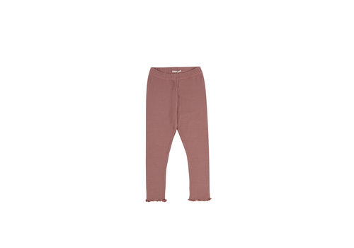 The New Society BETSY LEGGING ROSE TAUPE