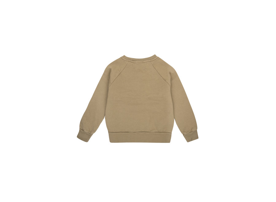 THE NEW SOCIETY CREW SWEATER KAKHI