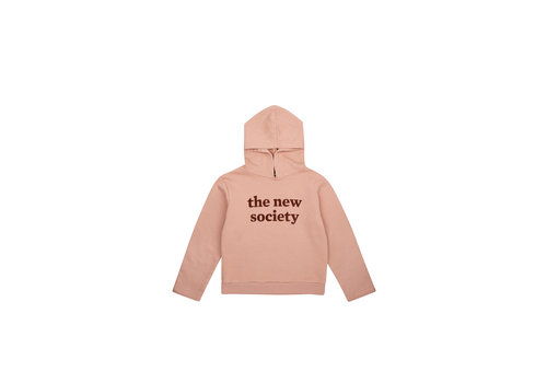 The New Society THE NEW SOCIETY FLOCK SWEATER BLUSH