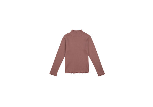 The New Society BETSY HIGH NECK ROSE TAUPE