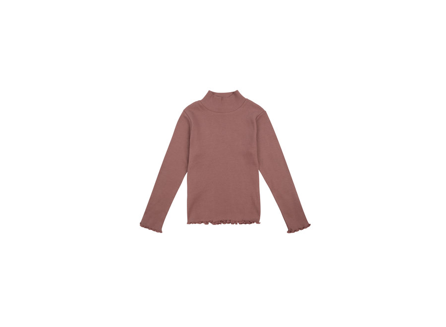 BETSY HIGH NECK ROSE TAUPE