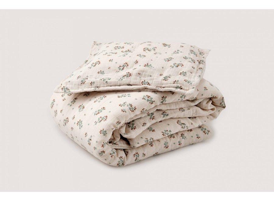 Clover Muslin Junior Bed Set