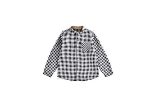 Louise Misha Shirt Akir Black Vichy