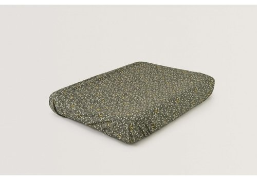 Garbo & Friends Floral Moss Changing Mat Cover