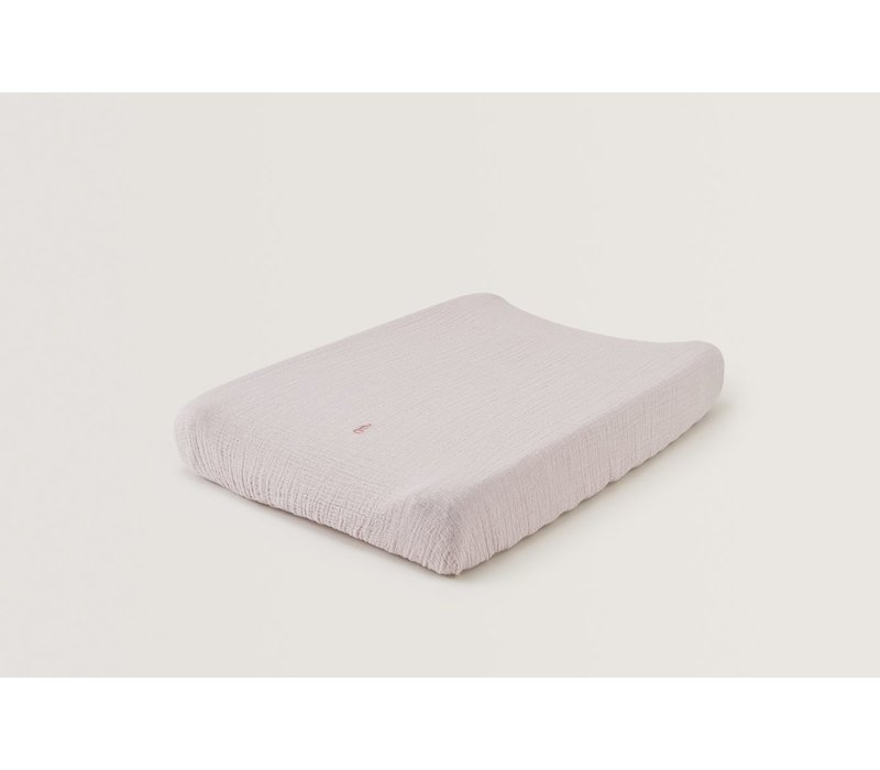 Calamine Muslin Changing Mat Cover
