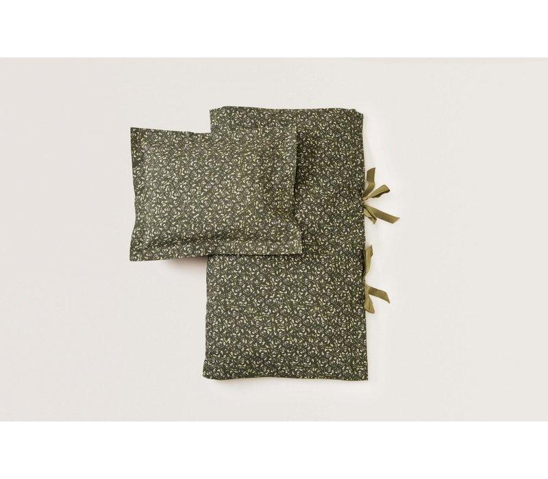 Floral Moss Junior Bed Set