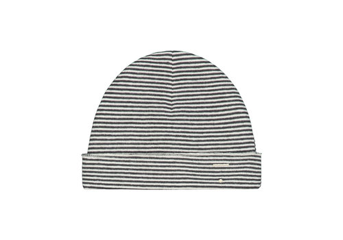 Gray Label Baby Beanie Nearly Black/Cream