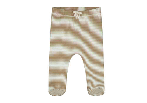 Gray Label Baby Footies Peanut/Cream