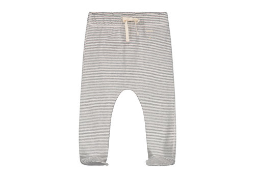 Gray Label Baby Footies Grey Melange/Cream