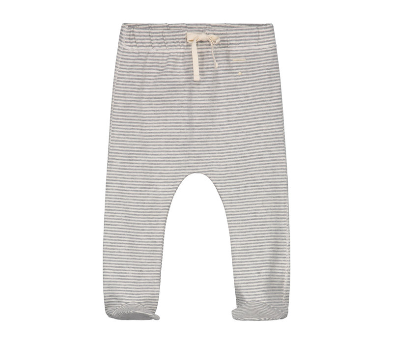 Baby Footies Grey Melange/Cream