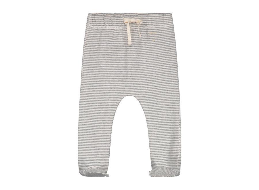 Baby Footies Grey Melange/Cream