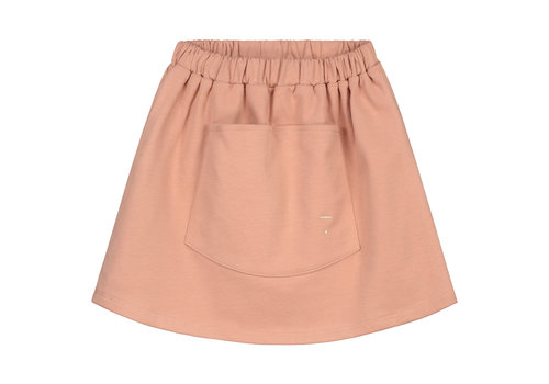 Gray Label Front Pocket Skirt Rustic Clay