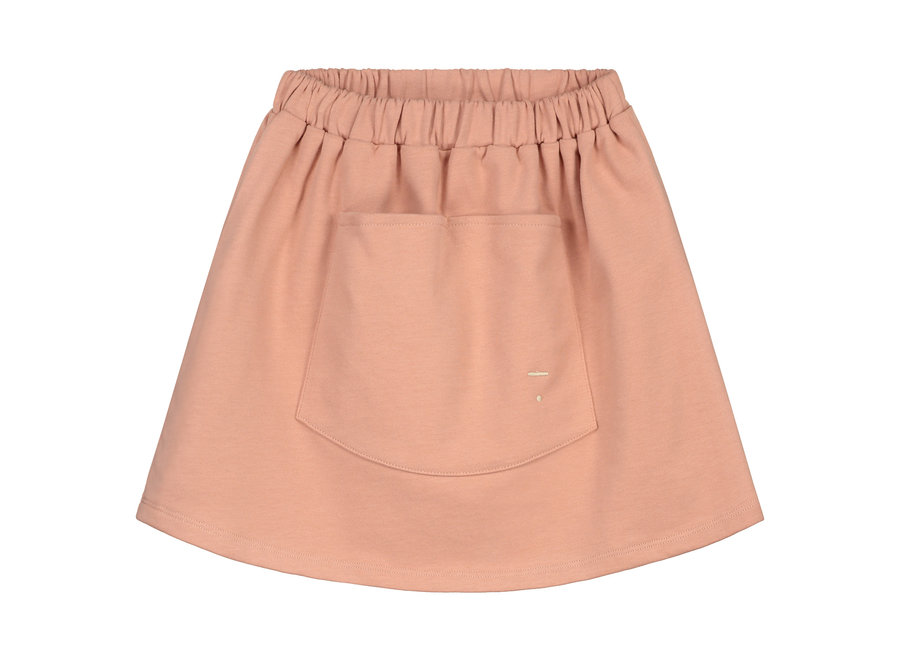 Front Pocket Skirt Rustic Clay
