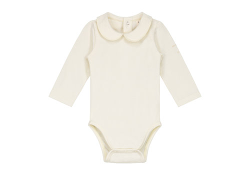 Gray Label Baby Collar Onesie Cream
