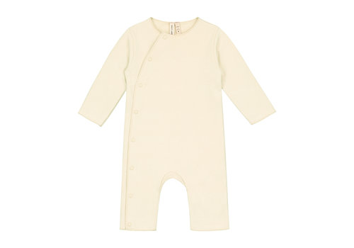 Gray Label Baby Suit with Snaps Cream
