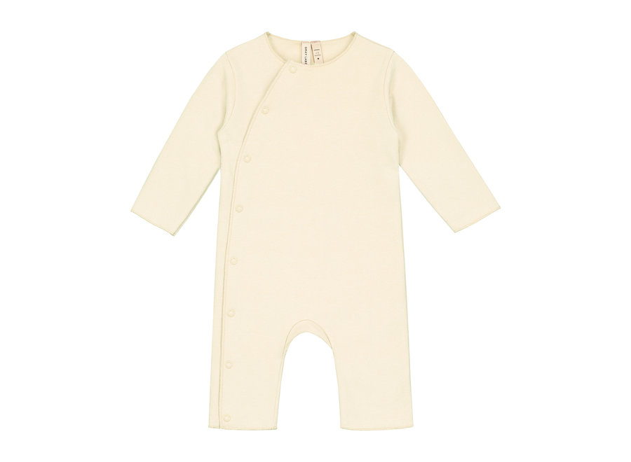 Baby Suit with Snaps Cream