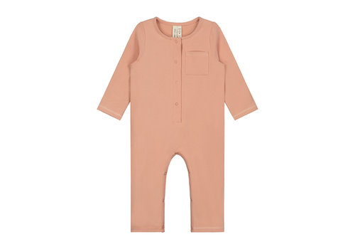 Gray Label Baby L/S Playsuit Rustic Clay