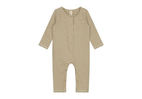 Gray Label Baby L/S Playsuit Peanut/Cream