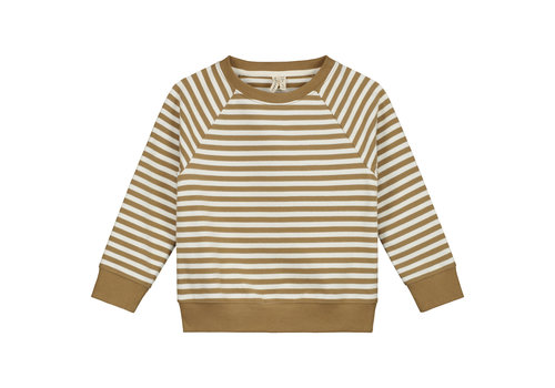 Gray Label Crewneck Sweater Peanut/Off White