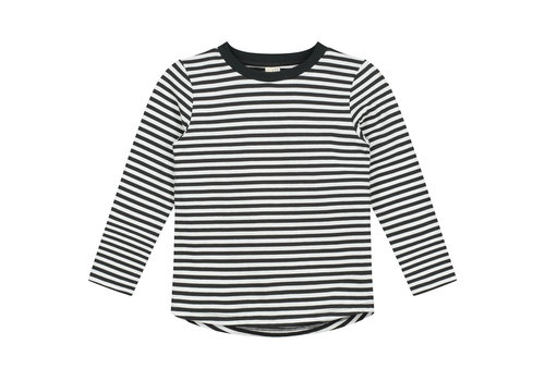 Gray Label L/S Tee Nearly Black/Off White